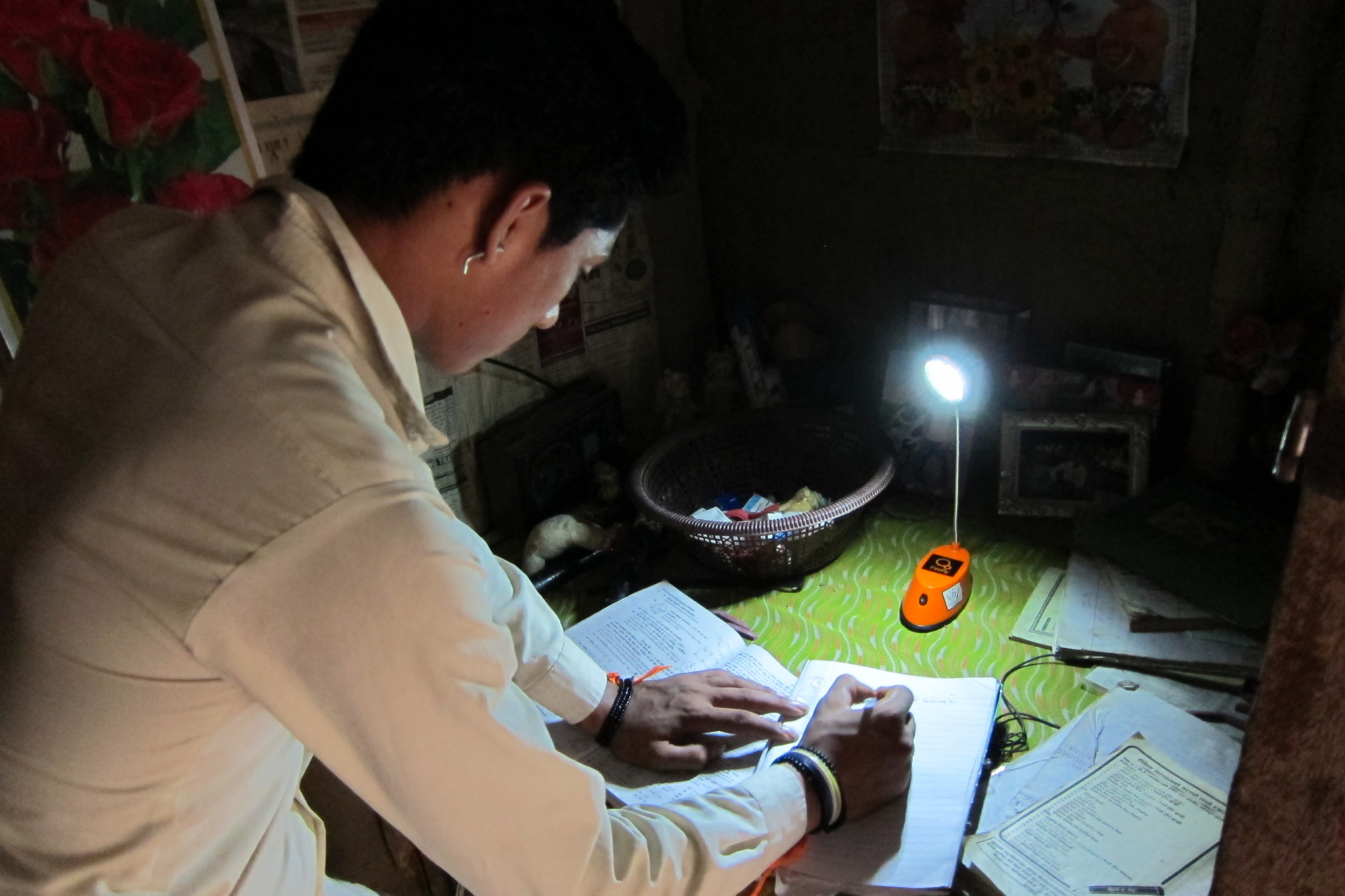 Solar lights can increase study time at night for children with many families reporting an extra 4 hours of light per night can lead to better grades and application in school.